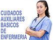 CURSO DE CUIDADOS AUXILIARES BASICOS EN ENFERMERIA
