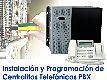 CURSO DE INSTALACION Y PROGRAMACION DE CENTRALITAS TELEFONICAS PBX