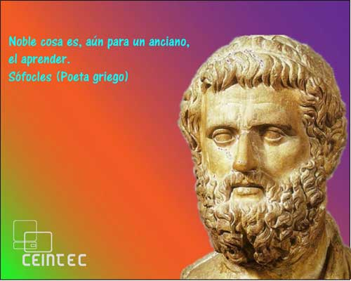 Frase De Sófocles De Educacionenseñanzatrabajofortuna Ceintec