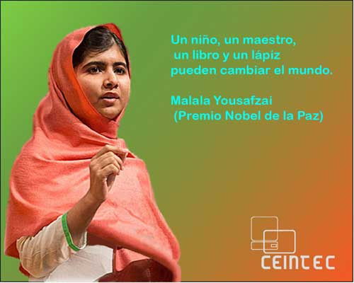 Frase De Malala Yousafzai De Educacionenseñanzatrabajo